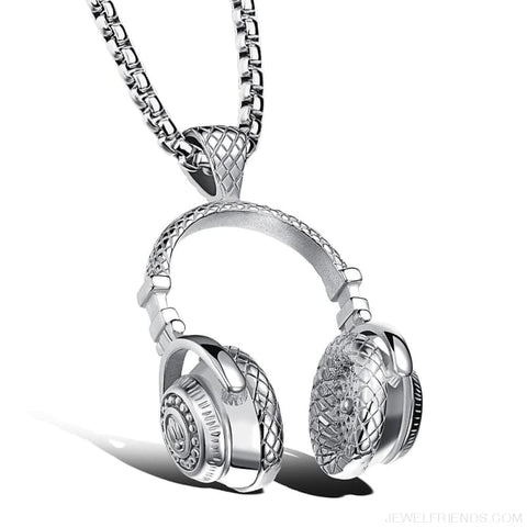 Image of Hip Hop Headphone Pendant Necklaces - Custom Made | Free Shipping