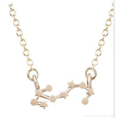 Horoscope Astrology Necklace - Scorpion / Gold - Custom Made | Free Shipping