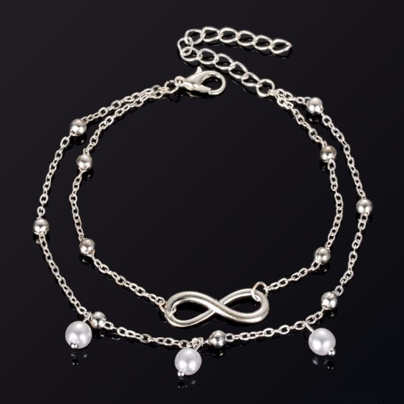 Infinite Ball Chain Foot Anklets - Custom Made | Free Shipping