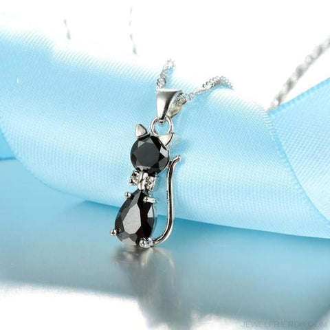 Jewellery Sets 925 Sterling Silver Cubic Zirconia Cat - Custom Made | Free Shipping