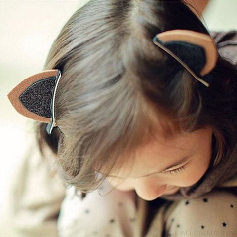 Image of Kitten Ear Hairpin - Custom Made | Free Shipping