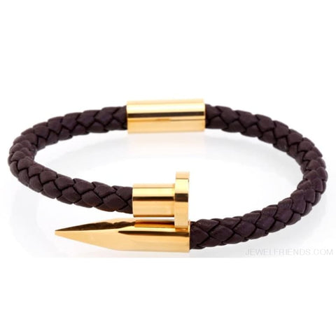 Image of Leather Nail Bracelets - Custom Made | Free Shipping