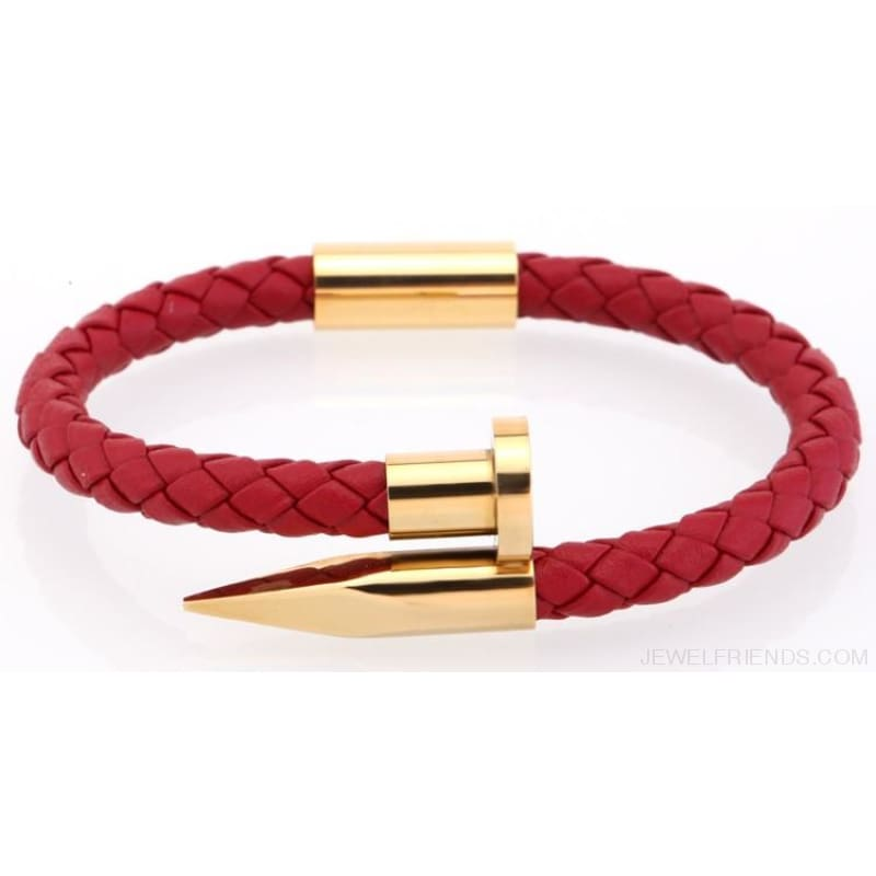 Leather Nail Bracelets - Custom Made | Free Shipping