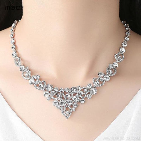 Luxury Heart Crystal Jewelry Sets - Custom Made | Free Shipping