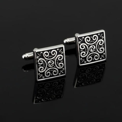 Image of Luxury Pattern Cufflink - 11 - Custom Made | Free Shipping