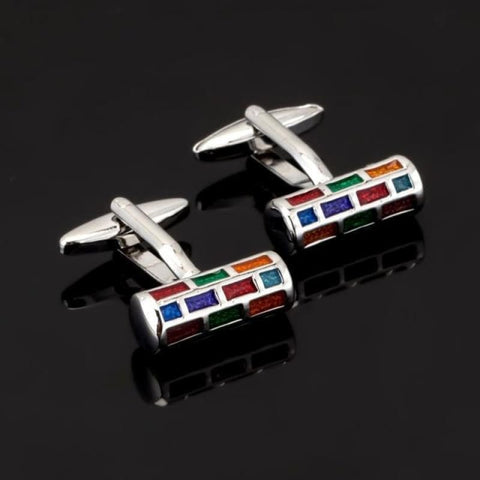 Image of Luxury Pattern Cufflink - 12 - Custom Made | Free Shipping