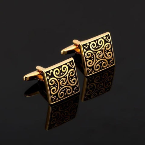 Image of Luxury Pattern Cufflink - 15 - Custom Made | Free Shipping