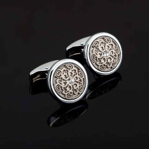 Image of Luxury Pattern Cufflink - 16 - Custom Made | Free Shipping