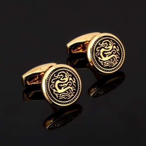 Image of Luxury Pattern Cufflink - 17 - Custom Made | Free Shipping