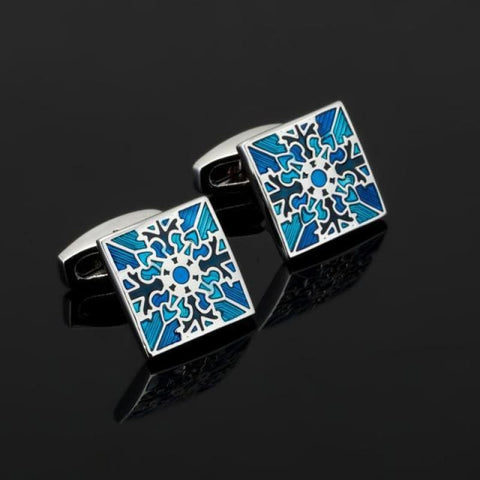 Image of Luxury Pattern Cufflink - 18 - Custom Made | Free Shipping
