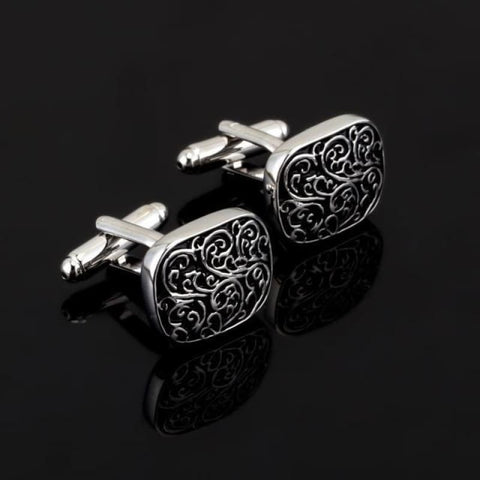 Image of Luxury Pattern Cufflink - 5 - Custom Made | Free Shipping