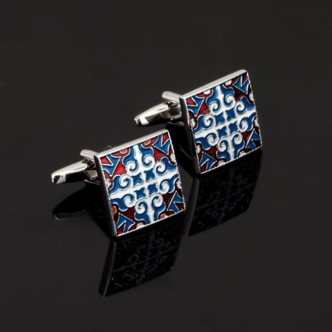 Image of Luxury Pattern Cufflink - 9 - Custom Made | Free Shipping