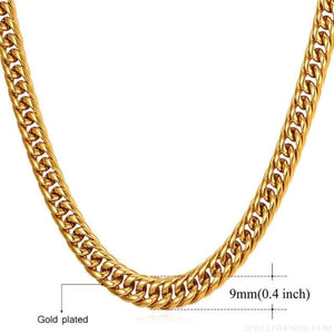 Miami Cuban Link Chain Hip Hop Chains 6mm-13mm