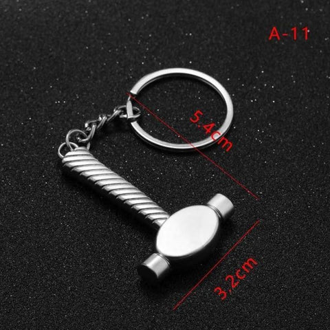 Mini Creative Wrench Spanner Key Chain - 11 - Custom Made | Free Shipping