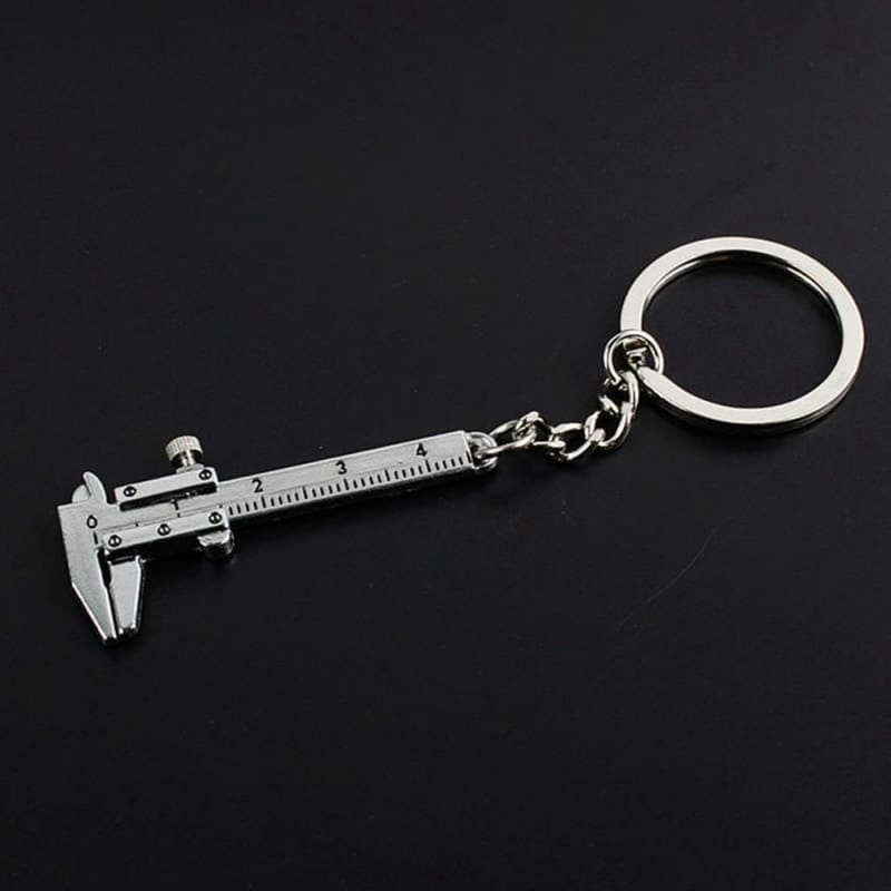 Mini Vernier Caliper Key Ring - Custom Made | Free Shipping