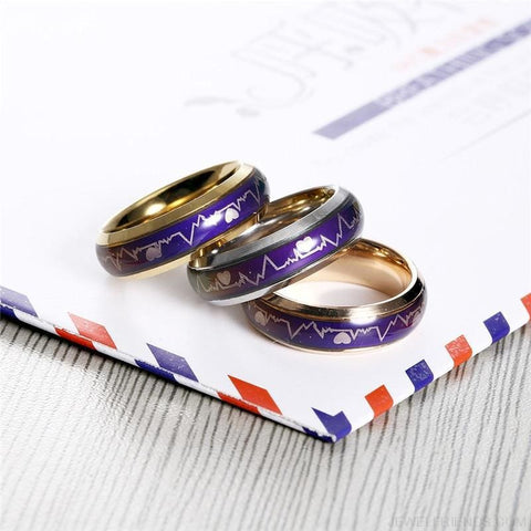 Image of Mood Temperature Feeling Rings - Custom Made | Free Shipping