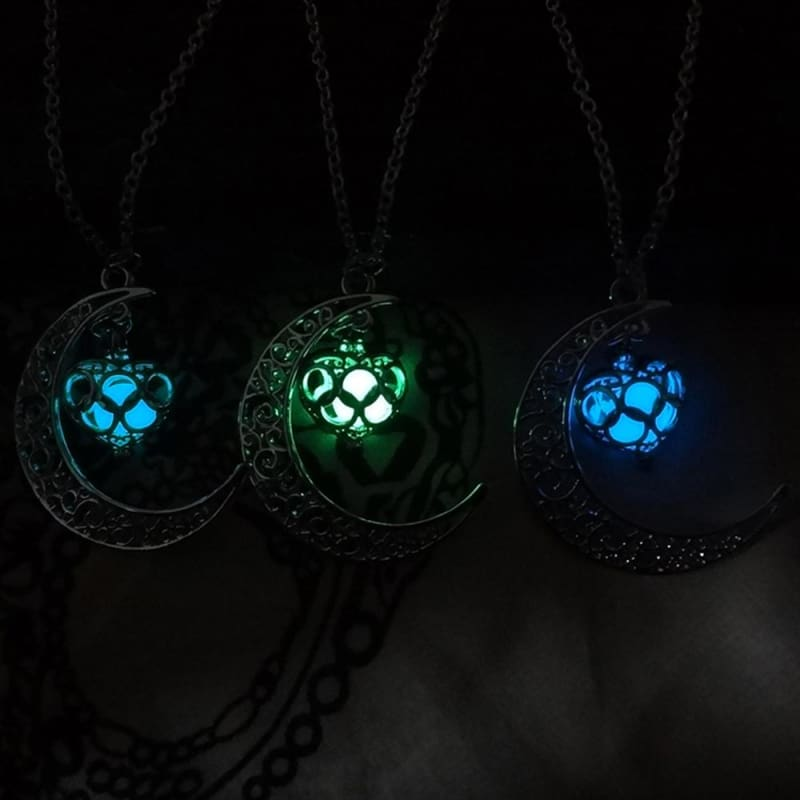 Moon Glowing Necklace - Custom Made | Free Shipping