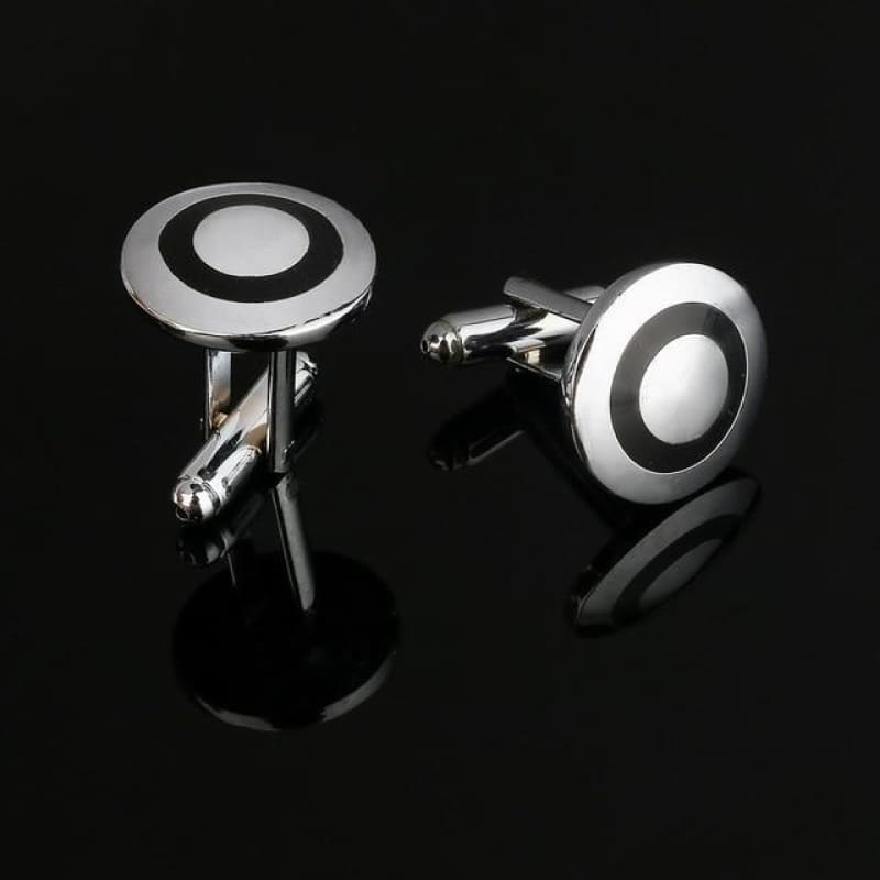 Pattern Silver Cuff Links - Cf0031Aaa - Custom Made | Free Shipping