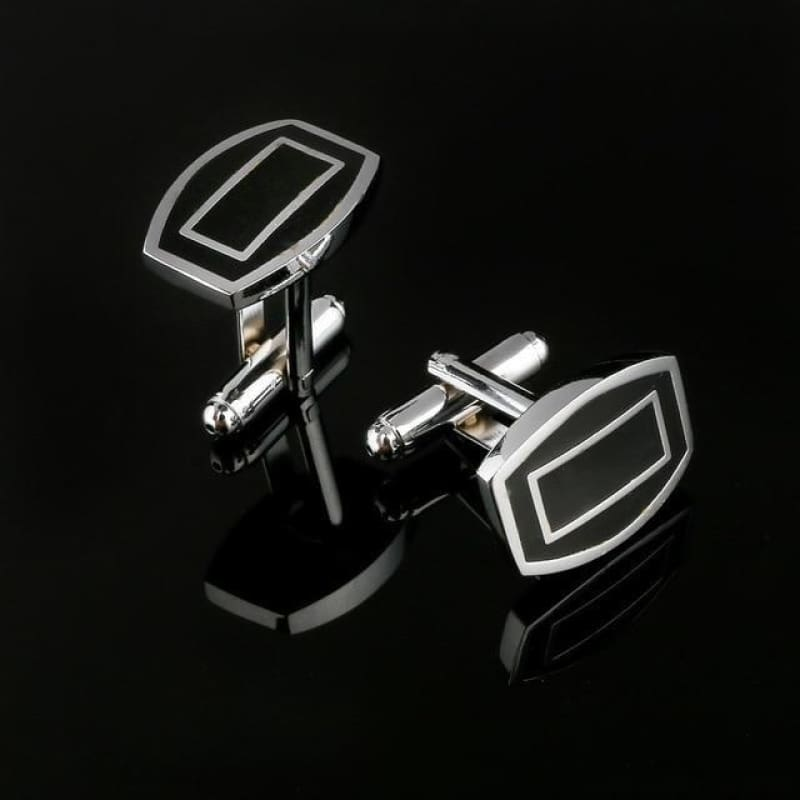 Pattern Silver Cuff Links - Cf0032Aaa - Custom Made | Free Shipping