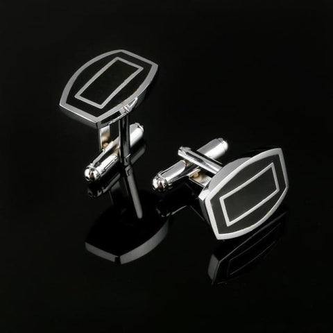 Image of Pattern Silver Cuff Links - Cf0032Aaa - Custom Made | Free Shipping