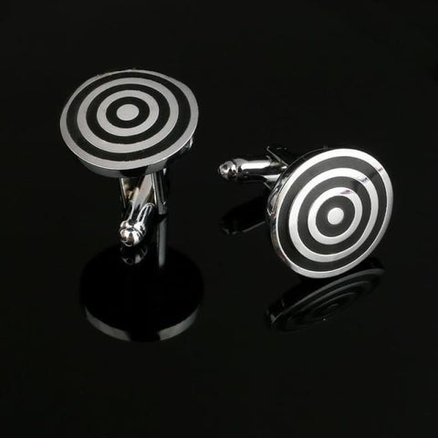 Image of Pattern Silver Cuff Links - Cf0034Aaa - Custom Made | Free Shipping