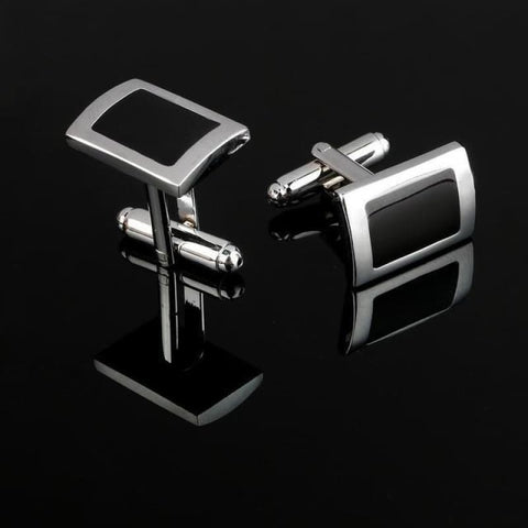 Image of Pattern Silver Cuff Links - Cf0036Aaa - Custom Made | Free Shipping