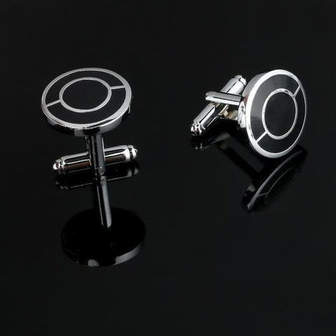 Image of Pattern Silver Cuff Links - Cf0037Aaa - Custom Made | Free Shipping