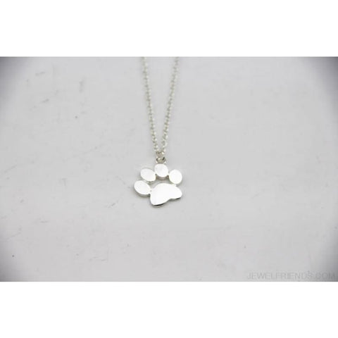 Image of Paw Claw Cat Feet Footprint Necklace - Custom Made | Free Shipping