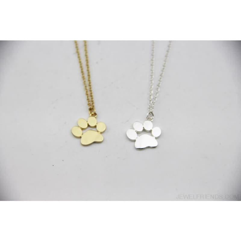 Paw Claw Cat Feet Footprint Necklace - Custom Made | Free Shipping