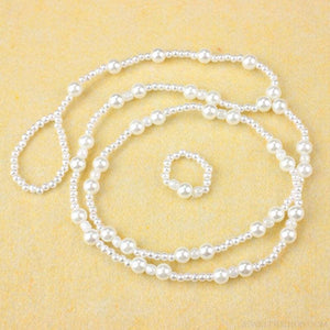 Pearl Barefoot Sandal Anklet Chain