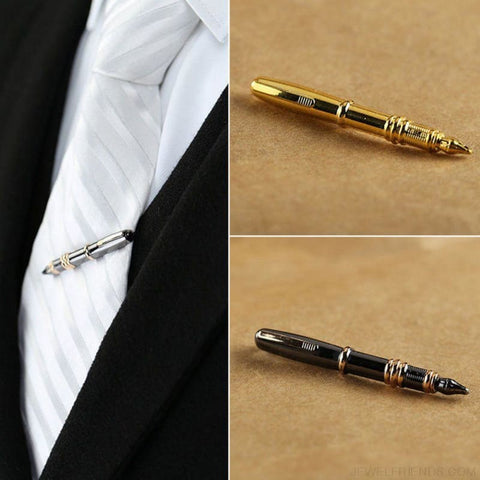 Image of Pen Shape Tie Clip - Custom Made | Free Shipping