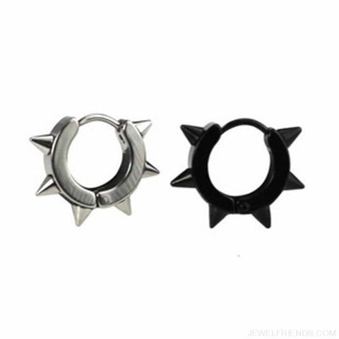 Image of Punk Rivet Spike Earrings - Custom Made | Free Shipping