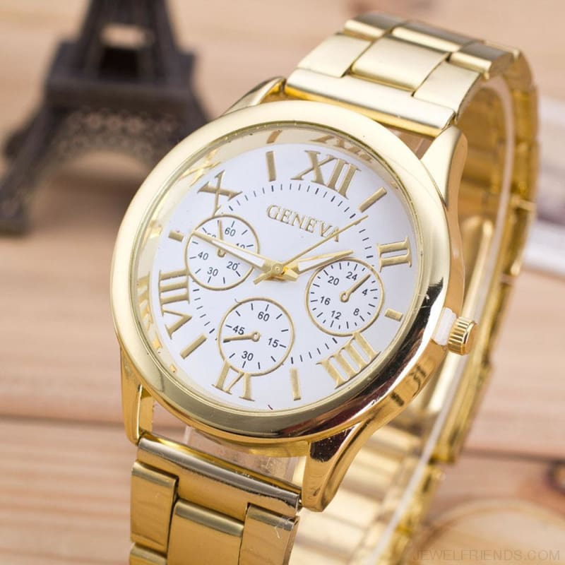 Roman Numerals Wrist Watches - Custom Made | Free Shipping