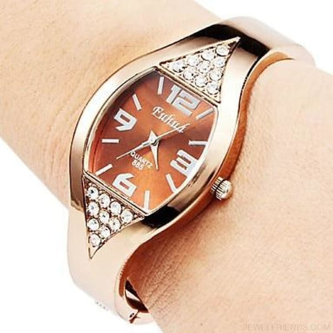 Image of Rose Gold Bangle Bracelet Watches - 2 / China - Custom Made | Free Shipping