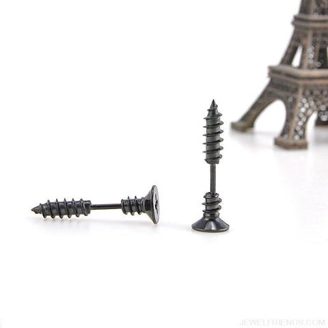 Image of Screw Stud Earrings - Custom Made | Free Shipping