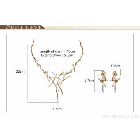 Image of Silver/gold/gun Color Metallic Statement Cross Jewelry Set - Custom Made | Free Shipping