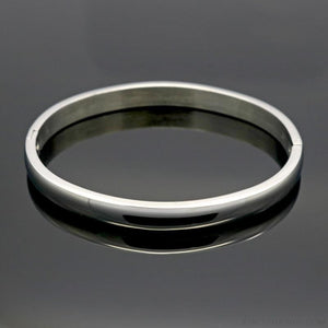 Simple Smooth Bangle Bracelet