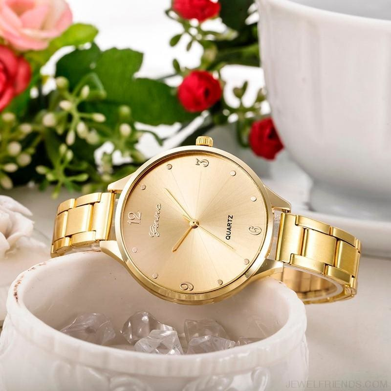 Simple Stainless Steel Quartz Watches - Custom Made | Free Shipping