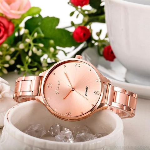 Image of Simple Stainless Steel Quartz Watches - Custom Made | Free Shipping