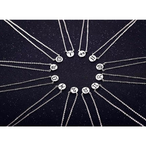 Simple Zodiac Sign Constellation Signs Necklaces