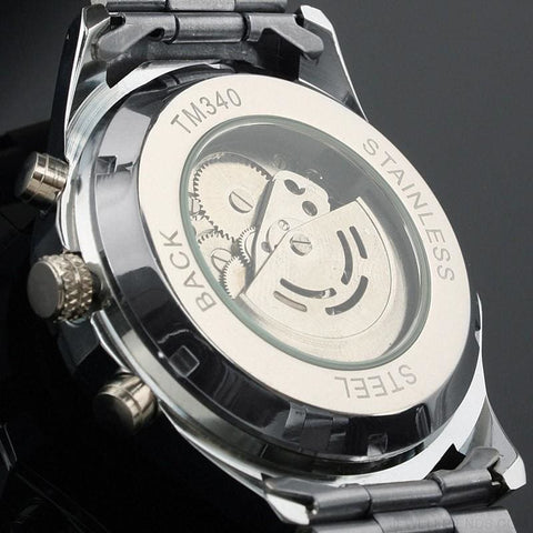 Image of Skeleton Classic Sport Watch Glowing Pointer - Custom Made | Free Shipping