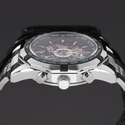 Skeleton Classic Sport Watch Glowing Pointer - Custom Made | Free Shipping