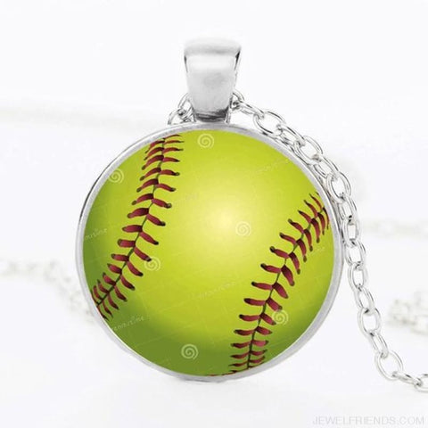 Sport Balls Photo Pendant Necklaces - 1 / 50Cm - Custom Made | Free Shipping
