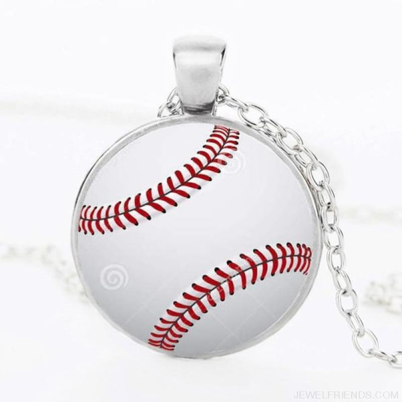 Sport Balls Photo Pendant Necklaces - 10 / 50Cm - Custom Made | Free Shipping