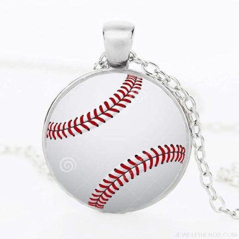 Image of Sport Balls Photo Pendant Necklaces - 10 / 50Cm - Custom Made | Free Shipping