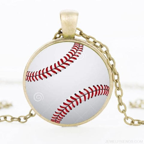 Sport Balls Photo Pendant Necklaces - 11 / 50Cm - Custom Made | Free Shipping