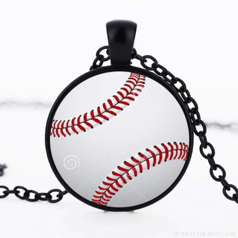 Sport Balls Photo Pendant Necklaces - 12 / 50Cm - Custom Made | Free Shipping