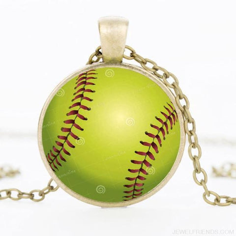 Sport Balls Photo Pendant Necklaces - 2 / 50Cm - Custom Made | Free Shipping