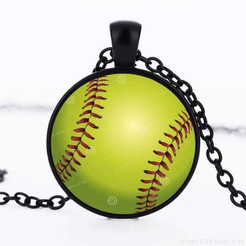 Image of Sport Balls Photo Pendant Necklaces - 3 / 50Cm - Custom Made | Free Shipping