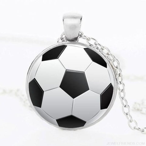 Sport Balls Photo Pendant Necklaces - 4 / 50Cm - Custom Made | Free Shipping